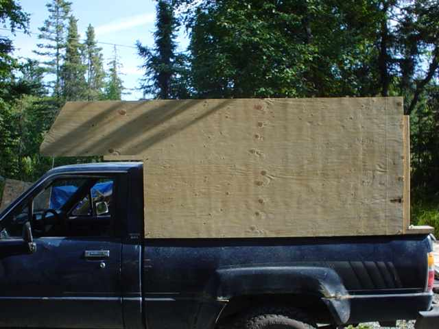 Alaska Home Built Camper Tips
