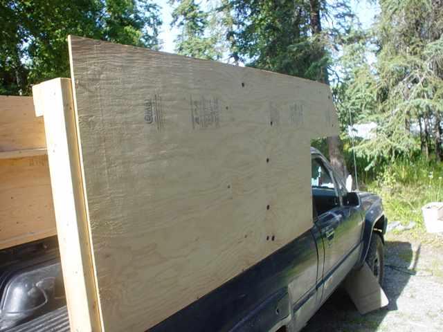 Alaska Home Built Camper Tips